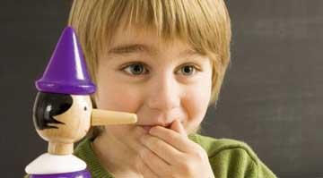 علت دروغگویی فرزند